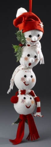 DIY Christmas Sock Snowmen