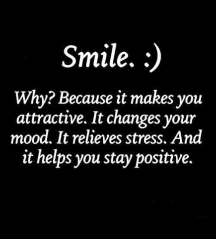 Smile, attractive, mood, stress, positive