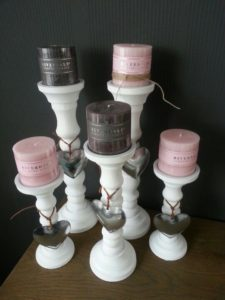 Home decoration candles