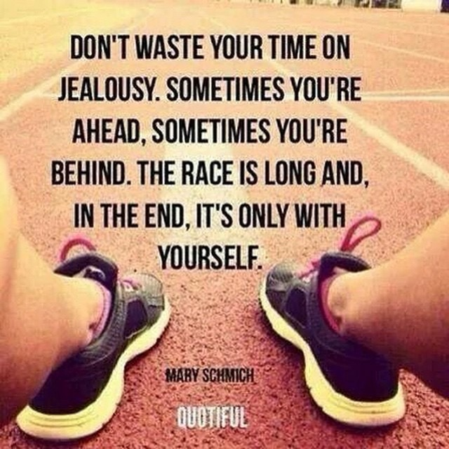 Don't waste your time on jealousy