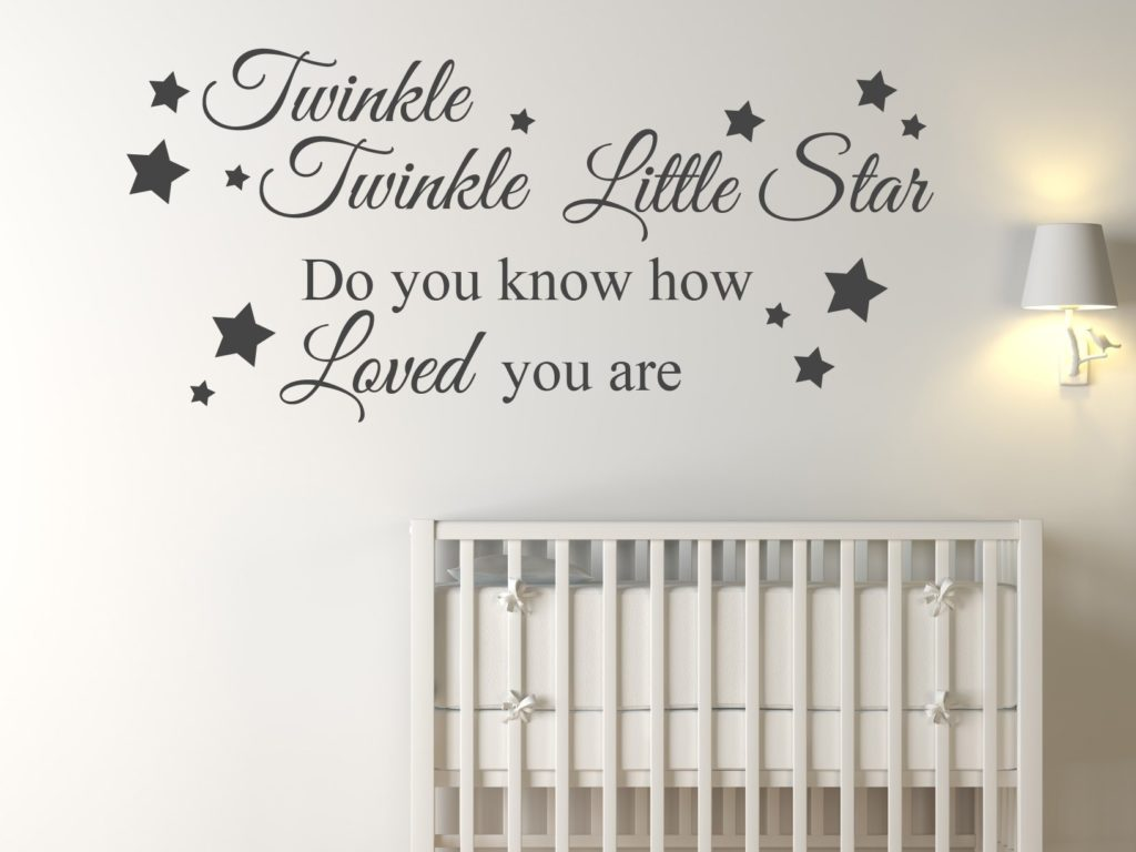 twinkle twinkle little star Baby room inspiration