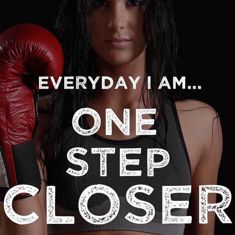Everyday I am.. one step closer