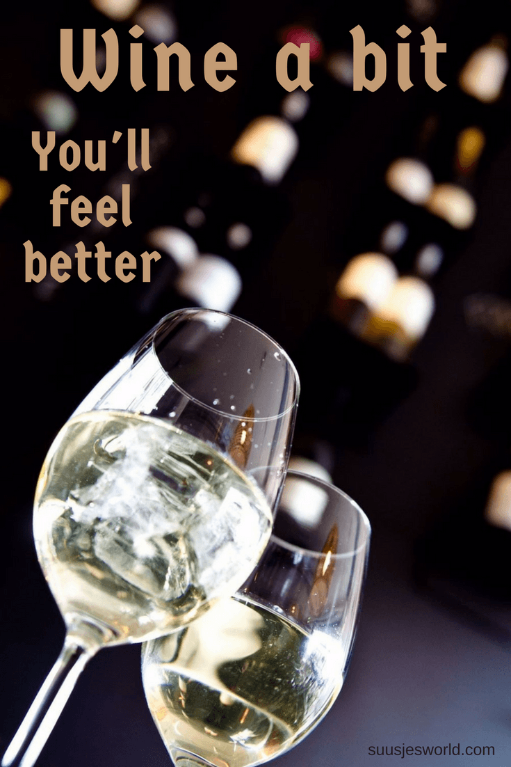 Wine a bit! You'll feel better