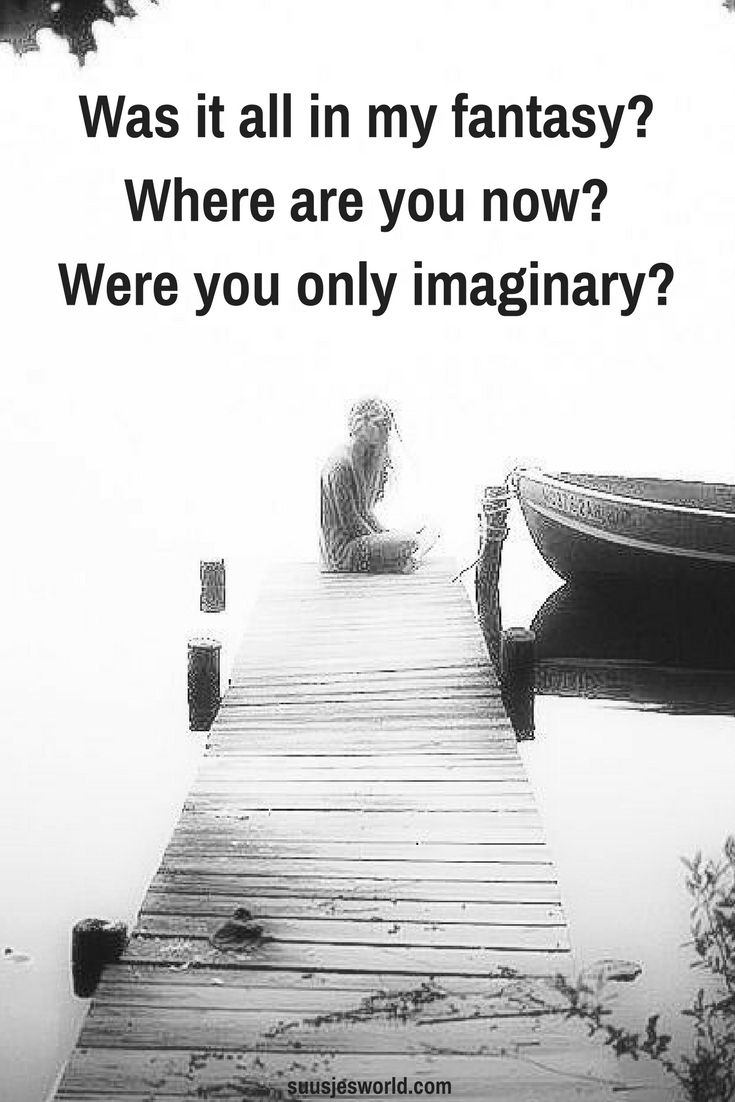 Was it all in my fantasy? Where are you now? Were you only imaginary? Alan Walker Faded