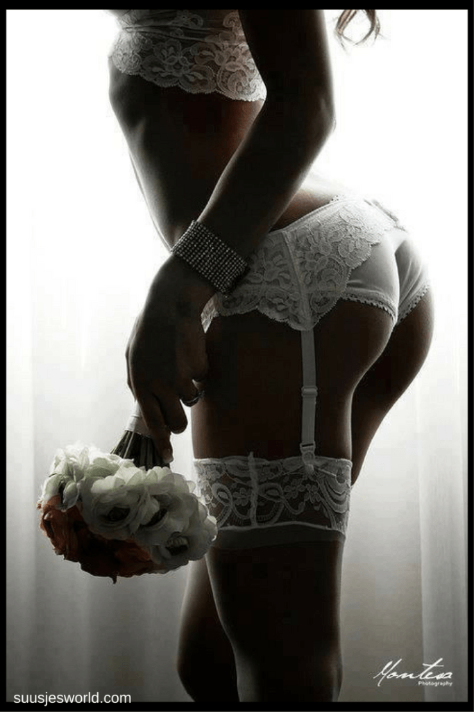 Sexy wedding lingerie